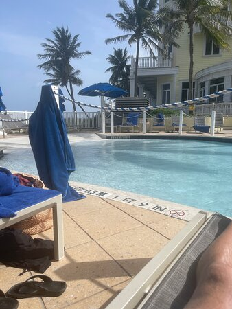 Great service from Brian at the pool!