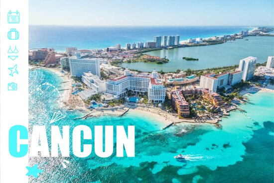 Cancun, Mexico: Tour a Cancún, México.