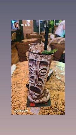 Quelques cocktails du Casa Tiki 🍹🗿