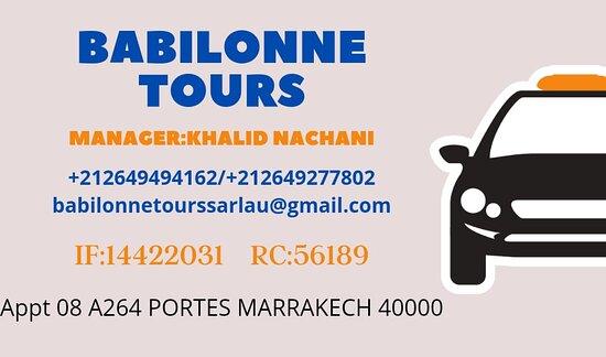 Babilonne tours with new imagination