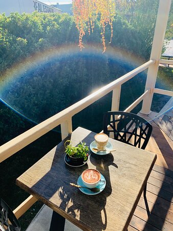 Our north facing wraparound verandah is perfect for those morning coffee catch ups!