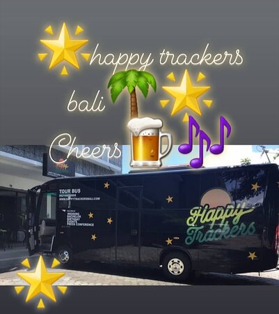 Party bus in bali