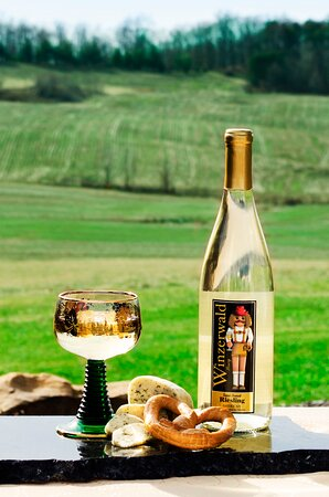 One of the best Rieslings in the State, Prost!