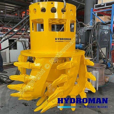 Китай: Hydroman MixPro™ Hydraulic Cutter head will install on the Dragflow dredge pumps that used for handle difficult sludge #dragflowpump Email: Sales7@tobeepump.com Web: www.tobeepump.com | www.slurrypumpsupply.com | www.tobee.store | www.tobee.cc | www.hydroman.cn