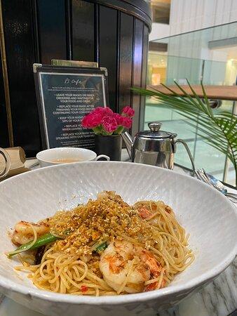 Ps cafe at Raffles City - kudos to Chaki!