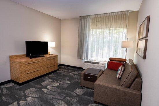 One-Bedroom Queen Suite - Living Area