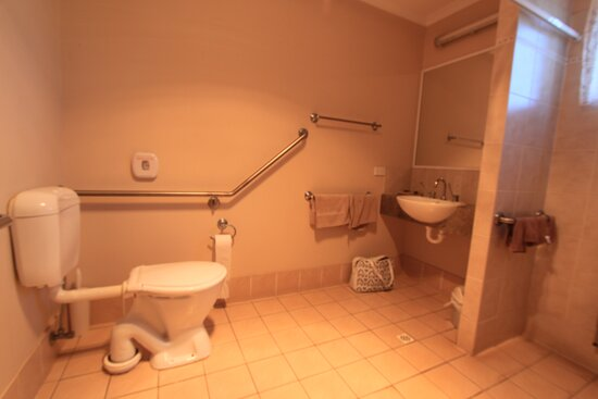wheelchair accessible unit