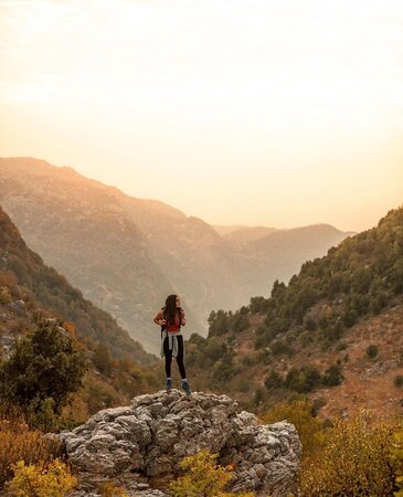 Qornet El Mzar trail