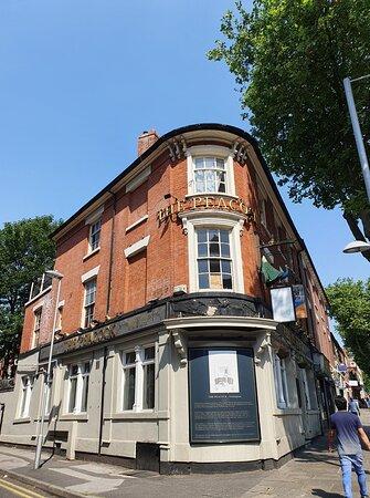 The Peacock Pub.
