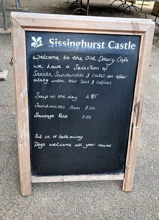 6.  The Old Dairy Cafe, Sissinghurst Castle, Sissinghurst, Kent