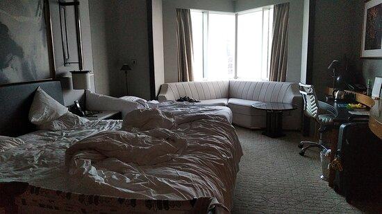Belle vue et chambre confortable