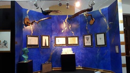 Artworks in the Salvador Dali exhibition.