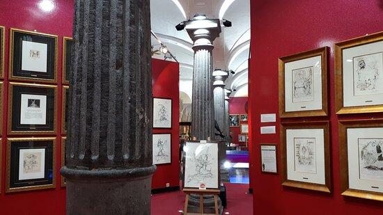 Artworks at the Salvador Dali Museum.