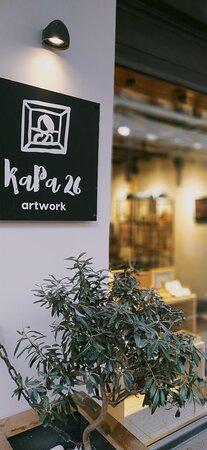 Elegant artwork corner