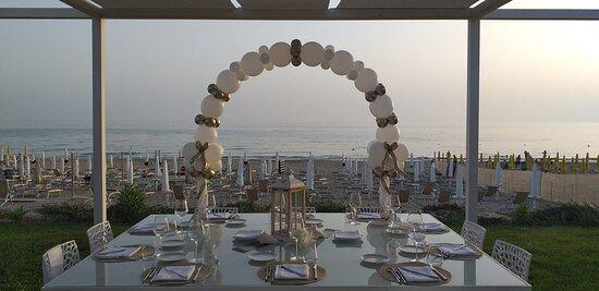 Cerimonia tavolo del festeggiato