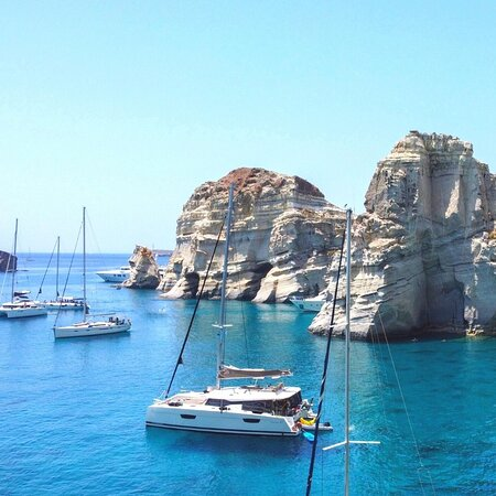 Beautiful landscape of Aegean sea!