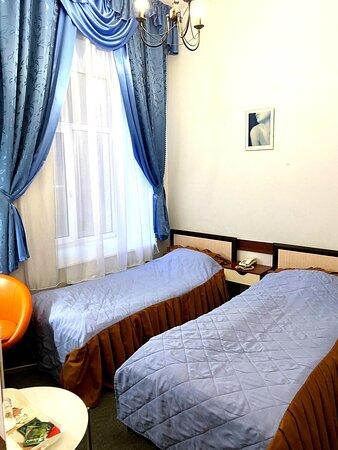 Двухместный бюджетный номер с раздельными кроватями