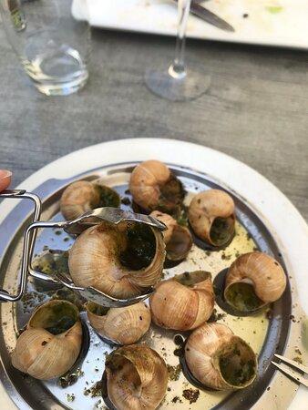 Galletto con salsa di vino  Escargot alla bourgeoisie