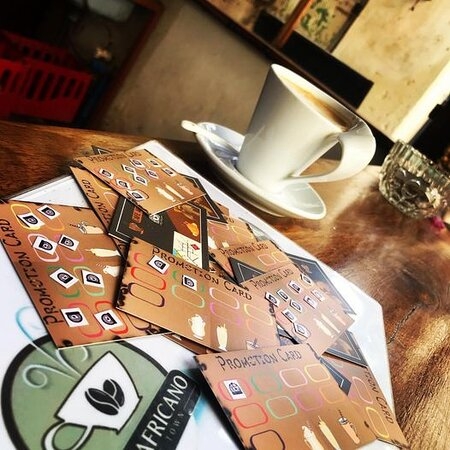Request your prootion card and get your free cappuccino