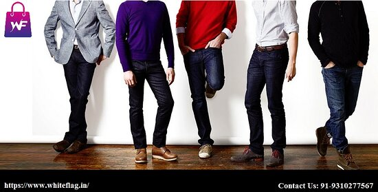Inde : With a point and click you can buy clothes online rather than dealing with the trouble of going to a clothing store. You can find countless styles and a wide range of premium formal outfit men online. Buy formal pants for men at the best price in India that will meet everyday requirement of clothing. Contact Us: 91-9310277567  https://www.whiteflag.in/