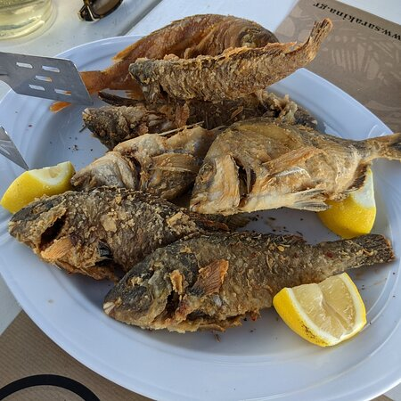 Petits poissons fris