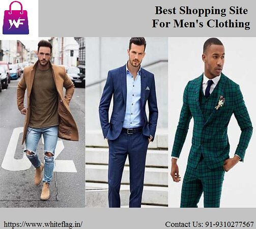 Inde : Whiteflag.in is the best shopping site for men's clothing from where you can buy affordable and cheap clothes online. Apart from this, Whiteflag.in is one website from where you can buy quality clothing at reasonable prices. Contact Us: 91-9310277567  https://www.whiteflag.in/