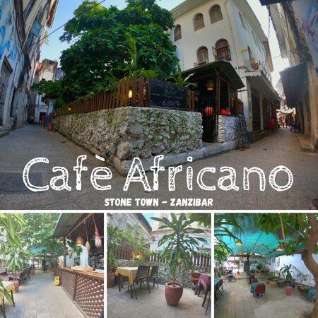 Café Africano exterior