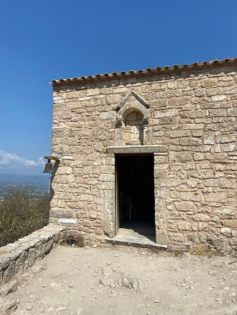 """Ancient Corinth, Epidaurus, Nafplio full day private tour from Athens: Church in the Acrocorinth, """"Upper Corinth"""""""