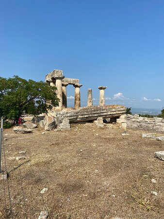 Ancient Corinth, Epidaurus, Nafplio full day private tour from Athens: Ancient Corinth (Archaia Korinthos)
