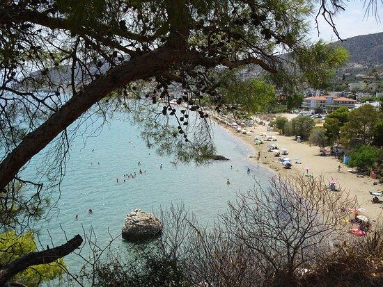 Греция: Tolo: la plage depuis Varvouna