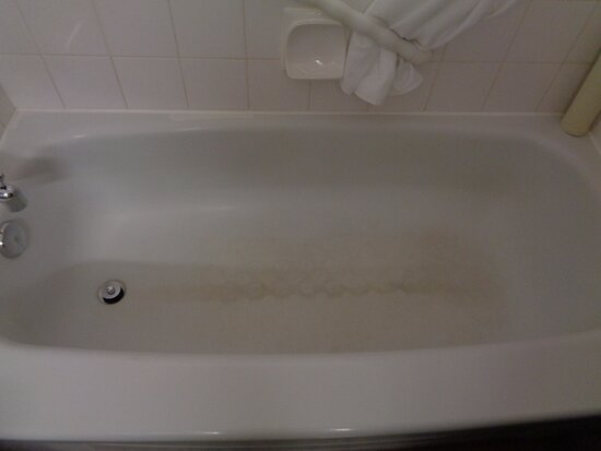 Tub in our room