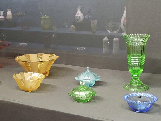 Цветные экспонаты