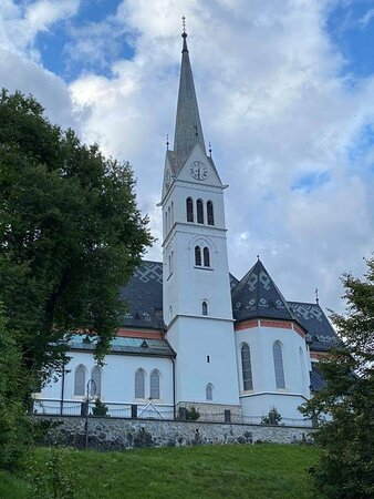 One of the churches on your way