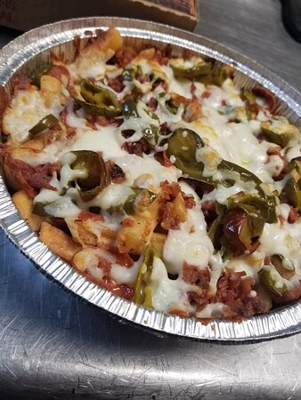 Pizzas, Wings, Garlic Knots, Pastas, Cold and Hot Subs, Salads, and Much, Much More!  ALL DELISH!