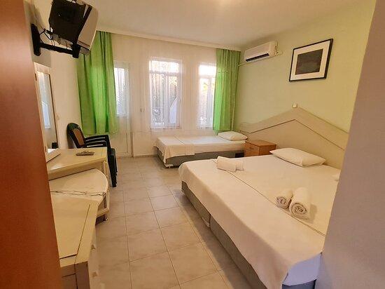 Orhaniye, Turkey: odalar balkonlu klimalı