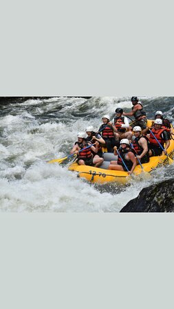 Amazing weekend rafting and camping