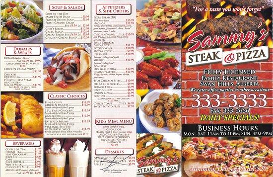 Here is their menu