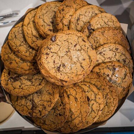 Sea Salt Chocolate Chip Cookies