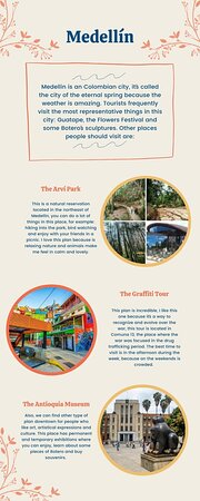 You should visit these places in Medellín, they are amazing!