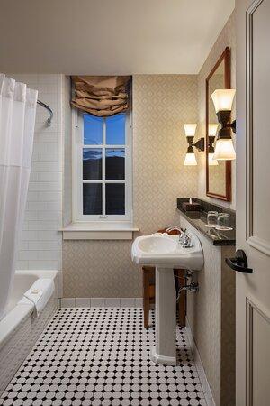 Mission room bathroom