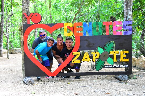 Toegangsbewijs voor Cenotes Zapote EcoPark: We Love Cenote Zapote