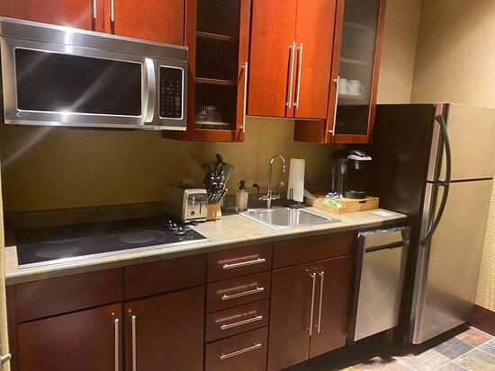Room 2813 Bistro kitchen.