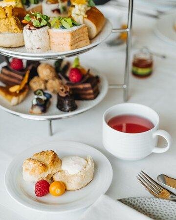 Afternoon Tea with runway views