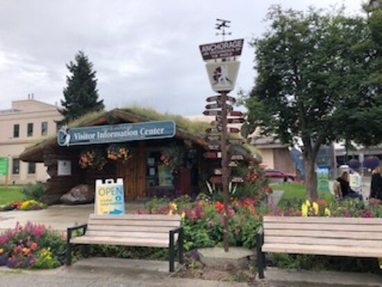 Anchorage Trolley Tour: This is where you meet up for the tours.