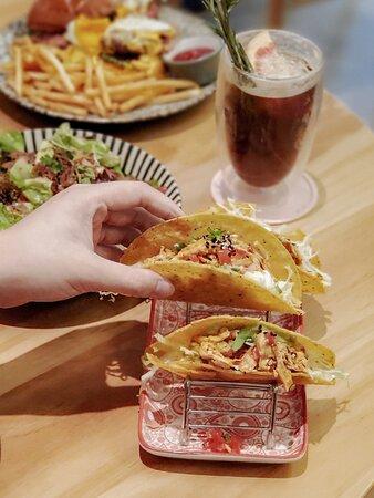 墨西哥脆餅·四川麻辣手撕雞