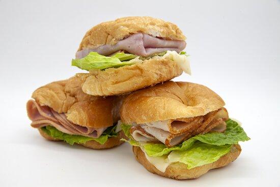 Croissant Deli Sandwiches
