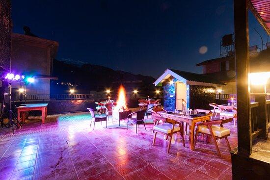 Hotel Evoque Manali Open  Terrace