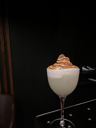 The Meringue-Utan. Our famous dessert cocktail. Check out our MASSIVE cocktail list! We shake, build & stir a mix of classic and contemporary cocktails, while also serving cheese & meat boards, unique & delicious wine, and top quality spirits. Just one street back from the Strand, Townsville's best & newest cocktail bar welcomes you to walk in and enjoy an intimate & exclusive sensory experience. OSK - sit down, drink, capture, enjoy!