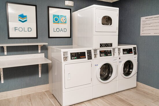 Our our complimentary laundry facilities