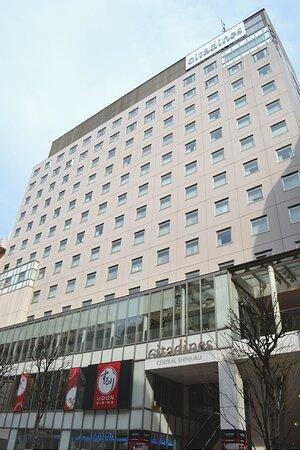 Façade of Citadines Central Shinjuku Tokyo